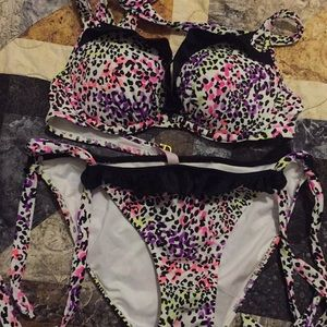 Victoria Secret Swimsuit Set 34B Medium